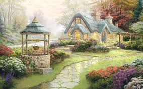 Beautiful Cottage Free Download Cottage Wallpaper Pixelstalk Net