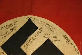 Flag Ir Prt Signed Souvenir German Flag