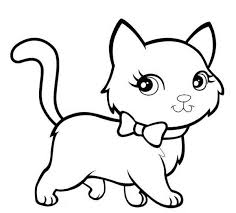 Lovely Realistic Cat Coloring Pages Like Inexpensive Article Cat Coloring Pages