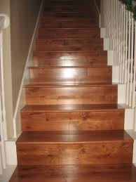 exterior interesting stair treads for interior and exterior laminate wood stair treads with white stair railing for interior staircase design
