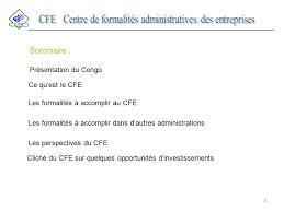 Cfe Centre De Formalités Des Entreprises Chambre D Du Centre De Formalités Administratives Des Entreprises Ppt