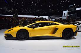 2015 Lamborghini Aventador - 2015 lamborghini aventador lp 750 4 sv 05 2015 geneva motor show