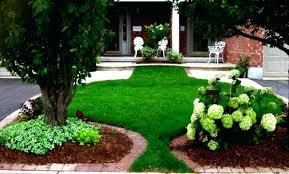 Backyard Garden Ideas For Small Yards Small House Landscape Designs Back Yard Trees Along Fence More A