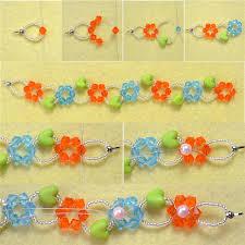make bead flower bracelet images 2015 new craft glass bead flower bracelet henry craft jewels jpg