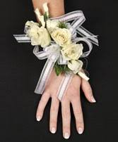 Prom Corsage White Rose Prom Corsage Prom Flowers In Ashland City Tn A Rose