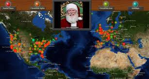 santa map see where santa s turning up all the smart