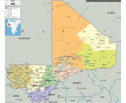 Benin Africa Map by Maps Of Mali Detailed Map Of Mali In English Tourist Map