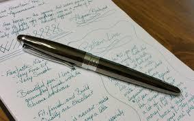 Rugged Fountain Pen Nemosine Neutrino Review