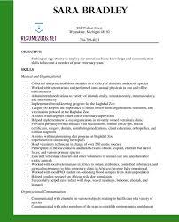 resume format exles 2016 veterinary assistant resume all best cv resume ideas