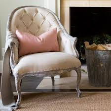 Armless Slipper Chair Dining Room Outstanding Tufted Chair For Home Furniture Ideas