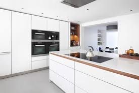 chelsea basement kitchen in terraced house