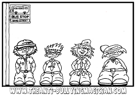 printable coloring pages u003e bullying u003e 22339 bullying coloring