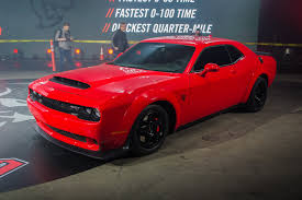Dodge Challenger Red - top 10 things you need to know about the 2018 dodge demon