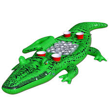 amazon com gofloats giant party gator floating alligator with
