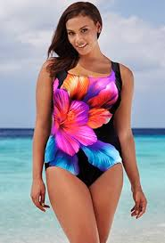 one piece long torso swimwear swimsuits for all