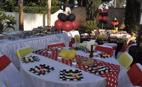 mickey mouse chair covers mickey mouse backdrop centerpieces chair covers tie tablecovers