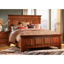 Furniture Of America Bedroom Sets A America Kalispell Solid Mahogany Rustic Lodge Mantel Bed Bedroom