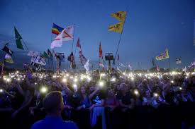Pa Flag Oxfam Scandal Glastonbury Festival Vows To Stand By Charity