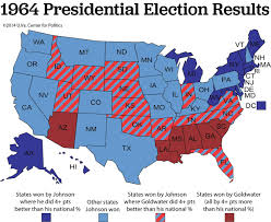 2016 Presidential Usa Election Prediction Electoral Map by How Goldwater Changed Campaigns Forever Politico Magazine
