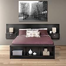 King Platform Storage Bed Prepac Series 9 Platform Storage Bed With Floating