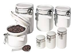 Buy Kitchen Canisters 100 Ceramic Kitchen Canister Set Vintage Kitchen Canister