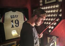 jared goff u0027s laid back nature blue collar work ethic could be a