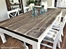 distressed white wood kitchen table u2022 kitchen tables design