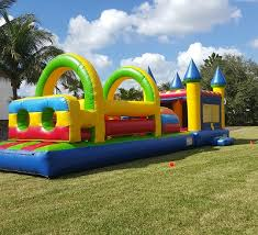 party rentals in obstacle courses interactive miami fl party rental