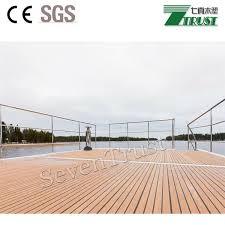 waterproof boat pvc decking flooring qz p seven trust china