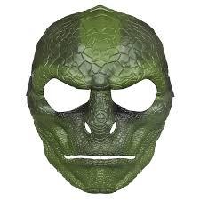 amazon com the amazing spider man lizard mask toys u0026 games