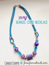 beaded cord necklace images How to make a bungee cord necklace jesse james beads blog jpg