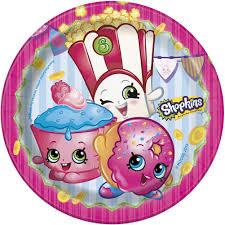 shopkins dessert plates shopkins bday party ideas pinterest