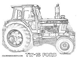 free coloring pages of new holland tractor free tractor coloring