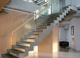 glass and steel staircase railing nurani org