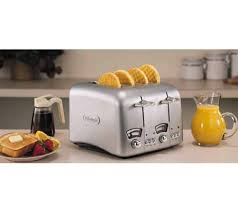 Toaster Retro Delonghi Rt400 Retro Four Slice Toaster U2014 Qvc Com