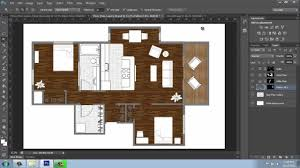 How To Floor Plan Adobe Photoshop Cs6 Rendering A Floor Plan Part 3 Floors And