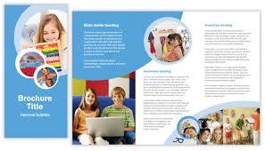 tri fold school brochure template tri fold brochure templates by lola cavanagh at coroflot