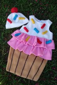 baby cupcake with sprinkles costume for halloween or just as a
