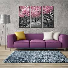 paintings for home decor painting on the wall cherry blossom tree canvas wal art painting