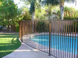 fence design desert sand pool safety fence fences arizona tucson