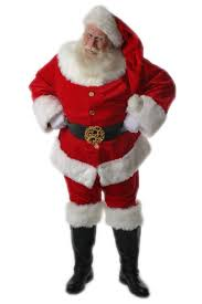santa clause pictures santa claus coca cola style suit