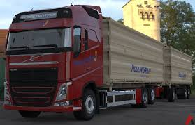 volvo model trucks 3d volvo fh tandem grain transport combo model 3d model obj mtl