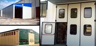 porte per capannoni coperture estensibili tunnel estensibili porte sezionali apertura