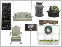 chicklet u0027s nest sweet tea porch set
