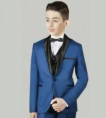 costume mariage bã bã costume enfant ceremonie bleu roi jean les petits mecs