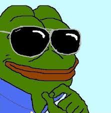 Sunglass Meme - cool pepe smug frog know your meme