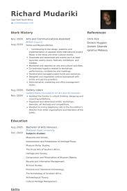 Marketing Assistant Resume Communications Assistant Resume Samples Visualcv Resume Samples