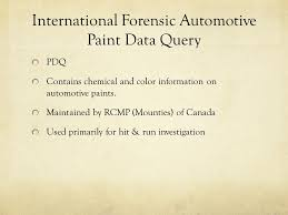 forensic databases what is a database a collection of data that