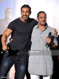 indian bollywood actors john abraham l and nana patekar perform