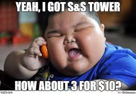 Kid On Phone Meme - fat kid on phone imgflip